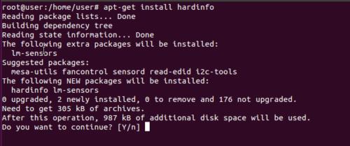 apt-get install hardinfo