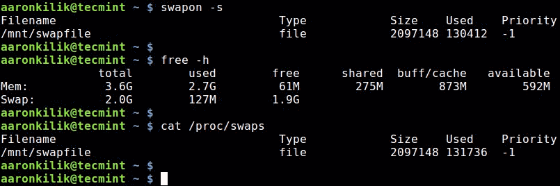 Check-Swap-Space-in-Linux