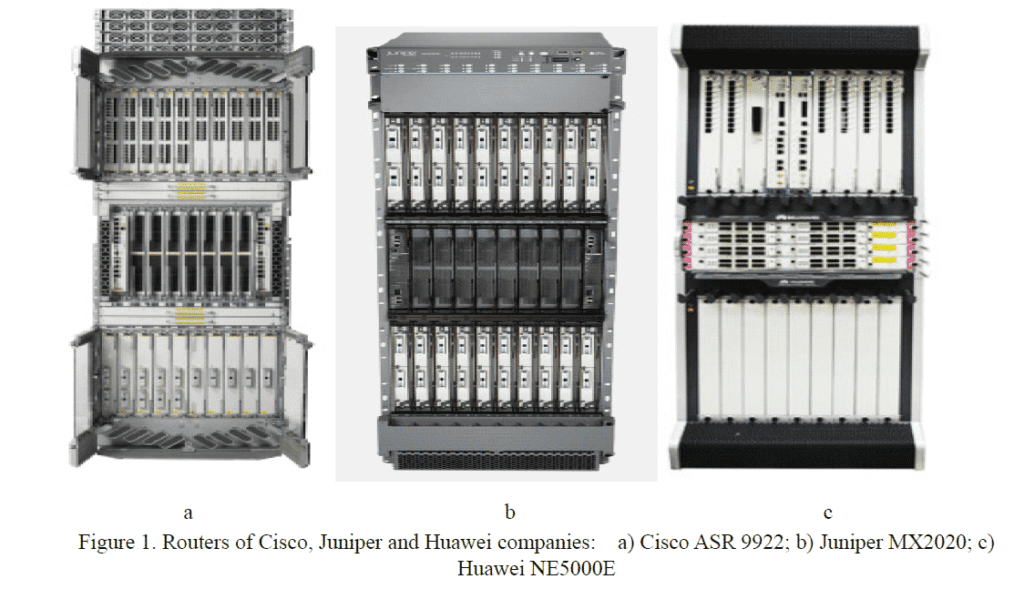 Networks-Baseline-(-Comparison-of-Cisco,-Huawei-and-Juniper-Routers-)