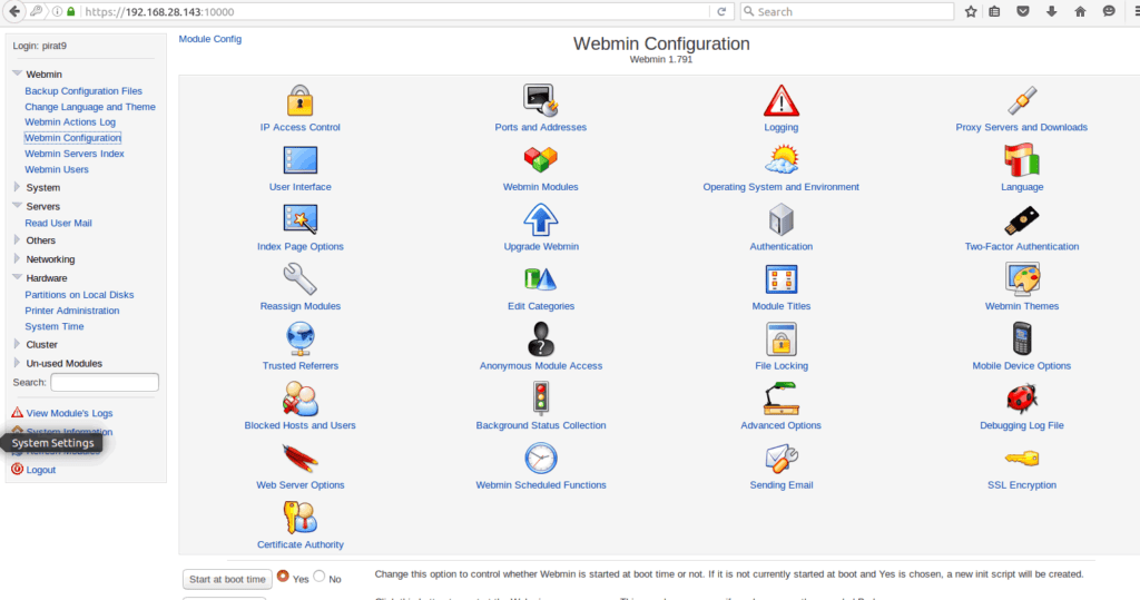 Webmin-Dashboard-second-page