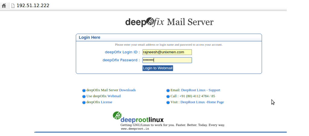 deepOfix-login