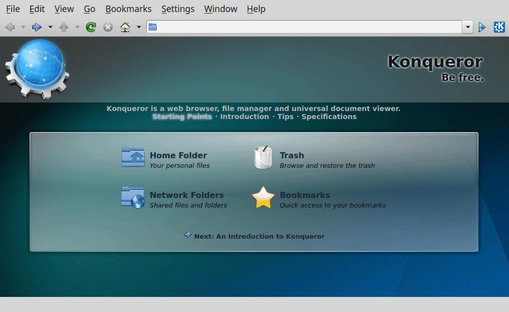 Konqueror-File-Manager
