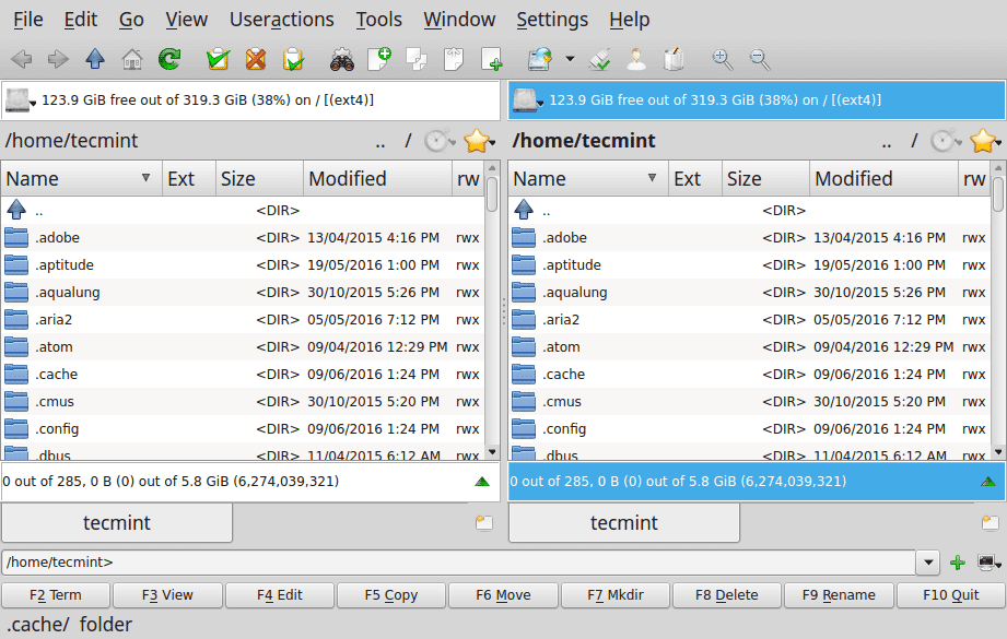 Krusader-File-Manager
