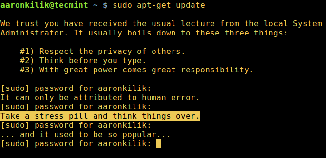 Let's-Sudo-Insult-You-When-Enter-Wrong-Password