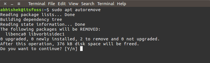 Use-autoremove-to-free-up-space