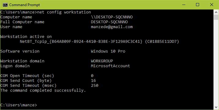 Verify-Windows-WorkGroup