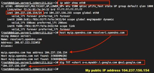 public IP adress