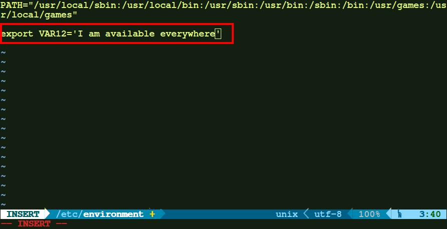 Как установить среды в Linux