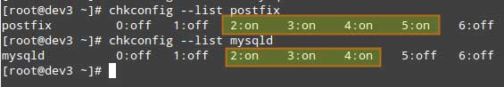 Listing-Runlevel-Configuration