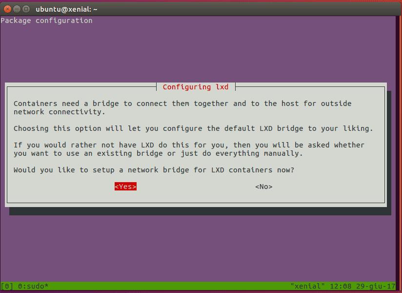 configuring-lxd