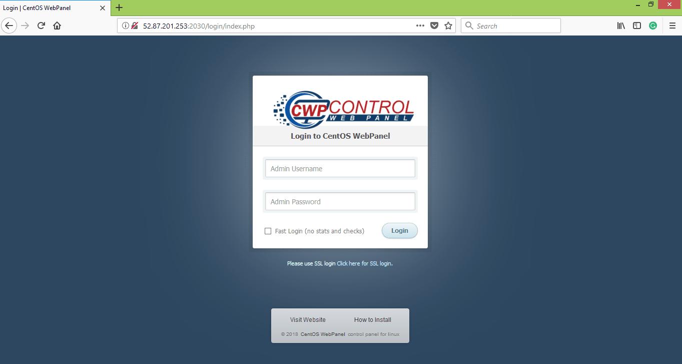 CWP-Configuration