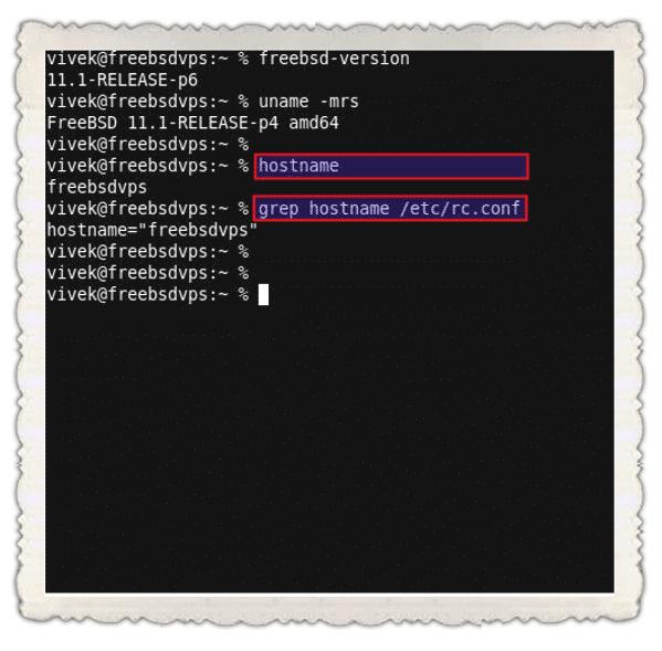 FreeBSD-Show-Hostname
