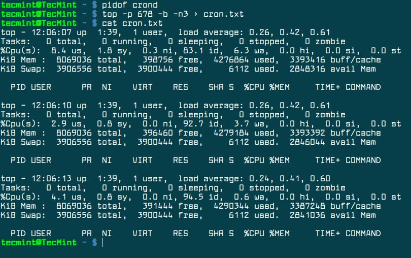 Watch-Process-Usage-in-Top-Command