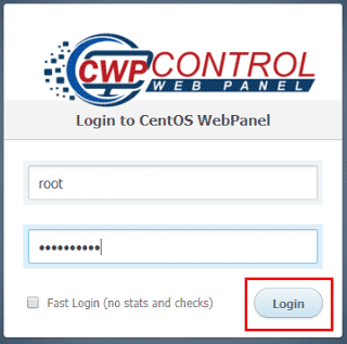 login-to-CentOS-web-panel