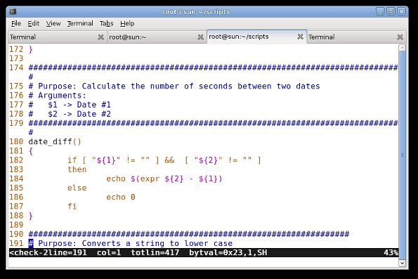 vi/vim-in-action-with-line-numbers