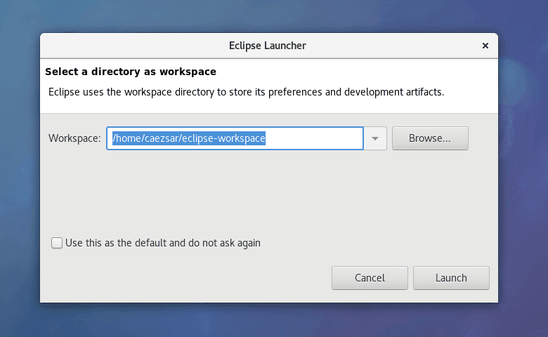 Add-Eclipse-Oxygen-IDE-Workspace