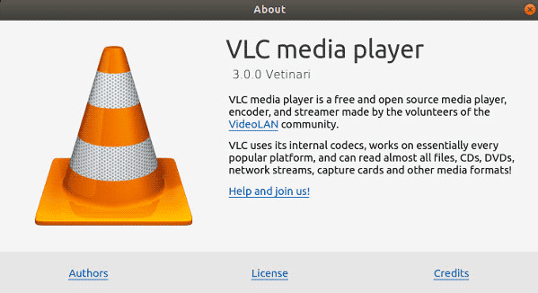 VLC-Media-player-version-3-installed-and-running-on-Linux