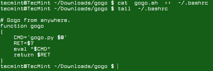 Add-Gogo-Function-to-Bashrc