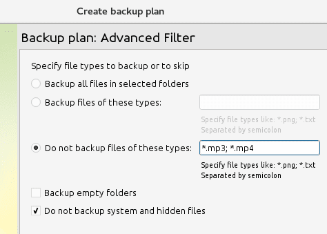Exclude-Files-for-Backup