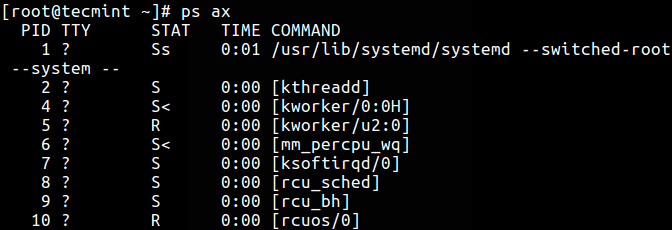 List-Processes-in-BSD-Format