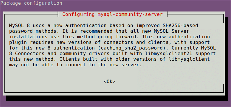MySQL-Authentication-Configuration