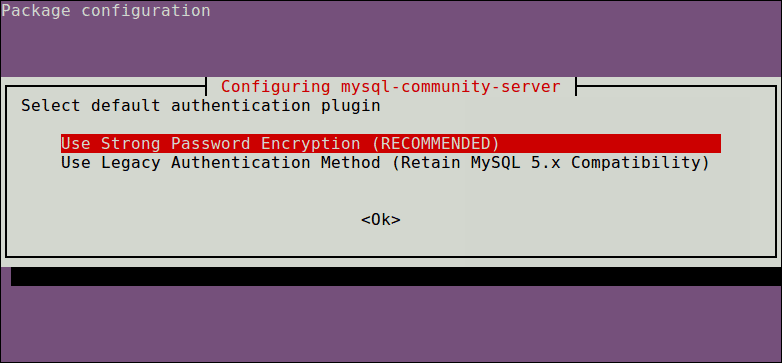 Select-MySQL-Authentication-Plugin