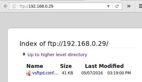 FTP-Web-Directory-Browsing