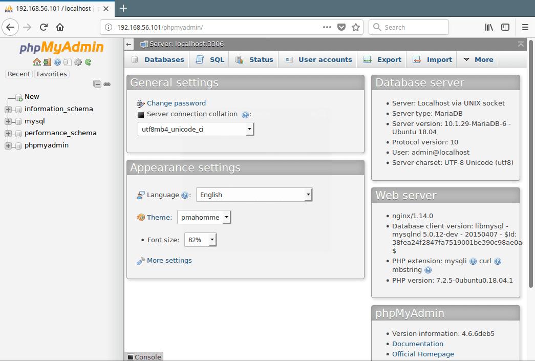 PhpMyAdmin-MySQL-Database-Administration