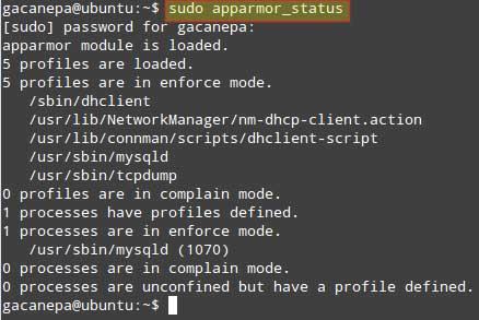 Check-AppArmor-Status