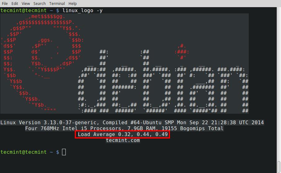 Print-System-Load-Average