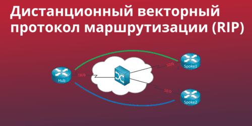 RIP как дистанционно-векторный протокол маршрутизации