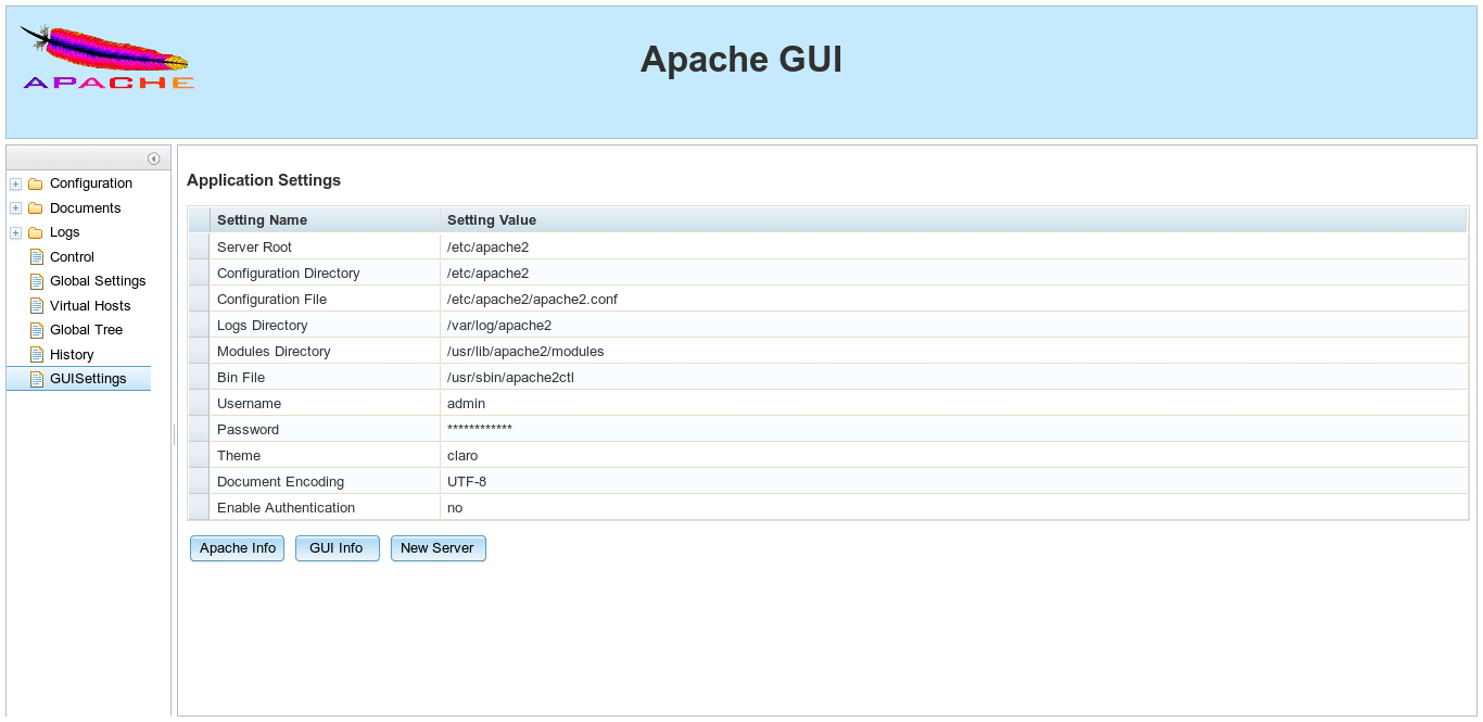 Apache-GUI-installed
