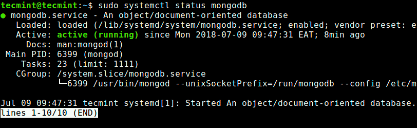 Check-Mongodb-Status