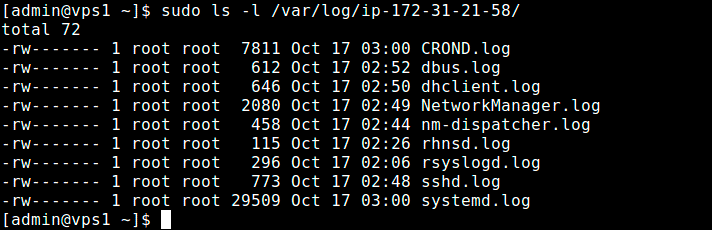 Check-Rsyslog-Client-Logs