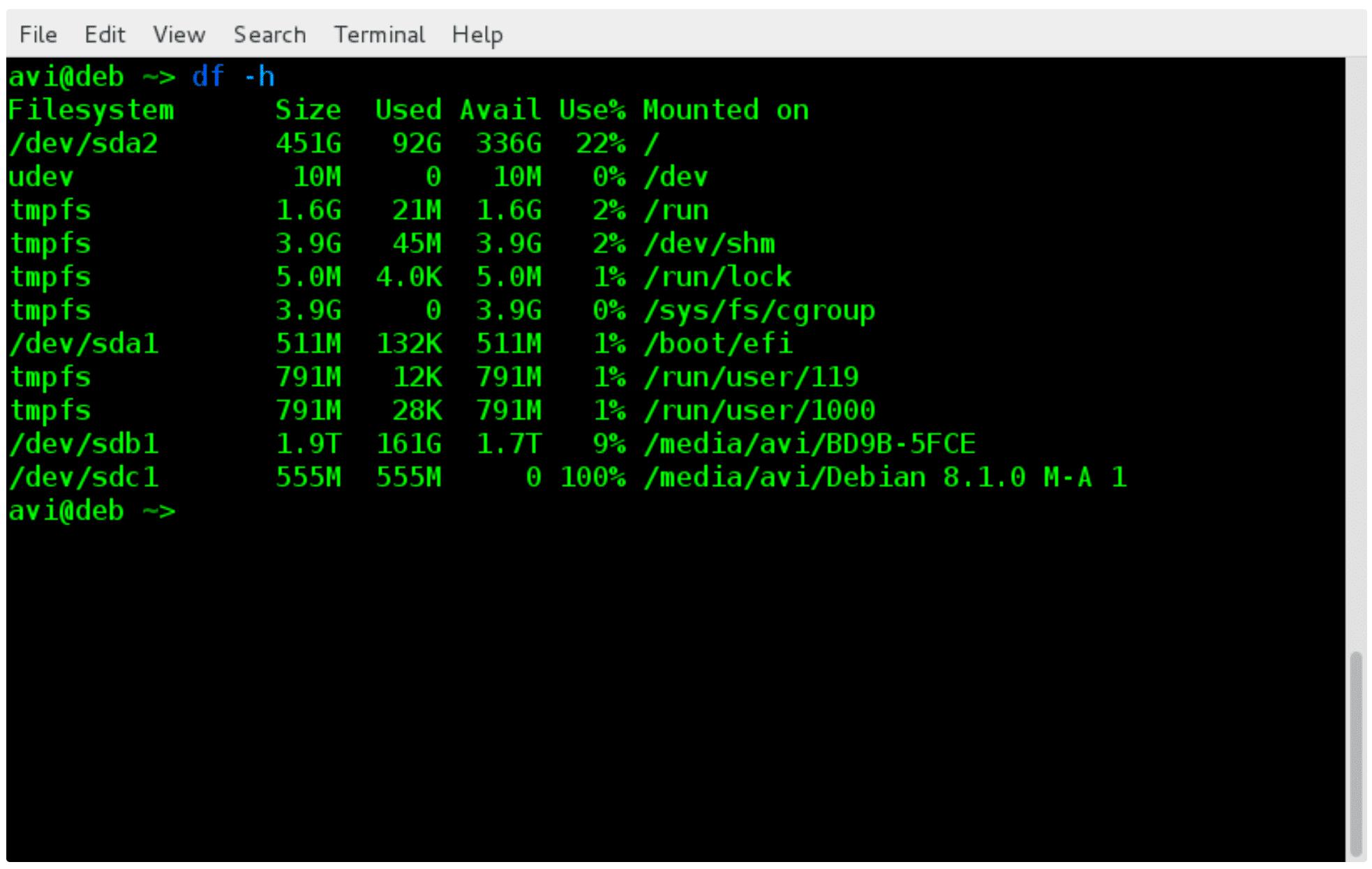 Mhddfs -- объединение нескольких небольших разделов в одно большое виртуальное хранилище