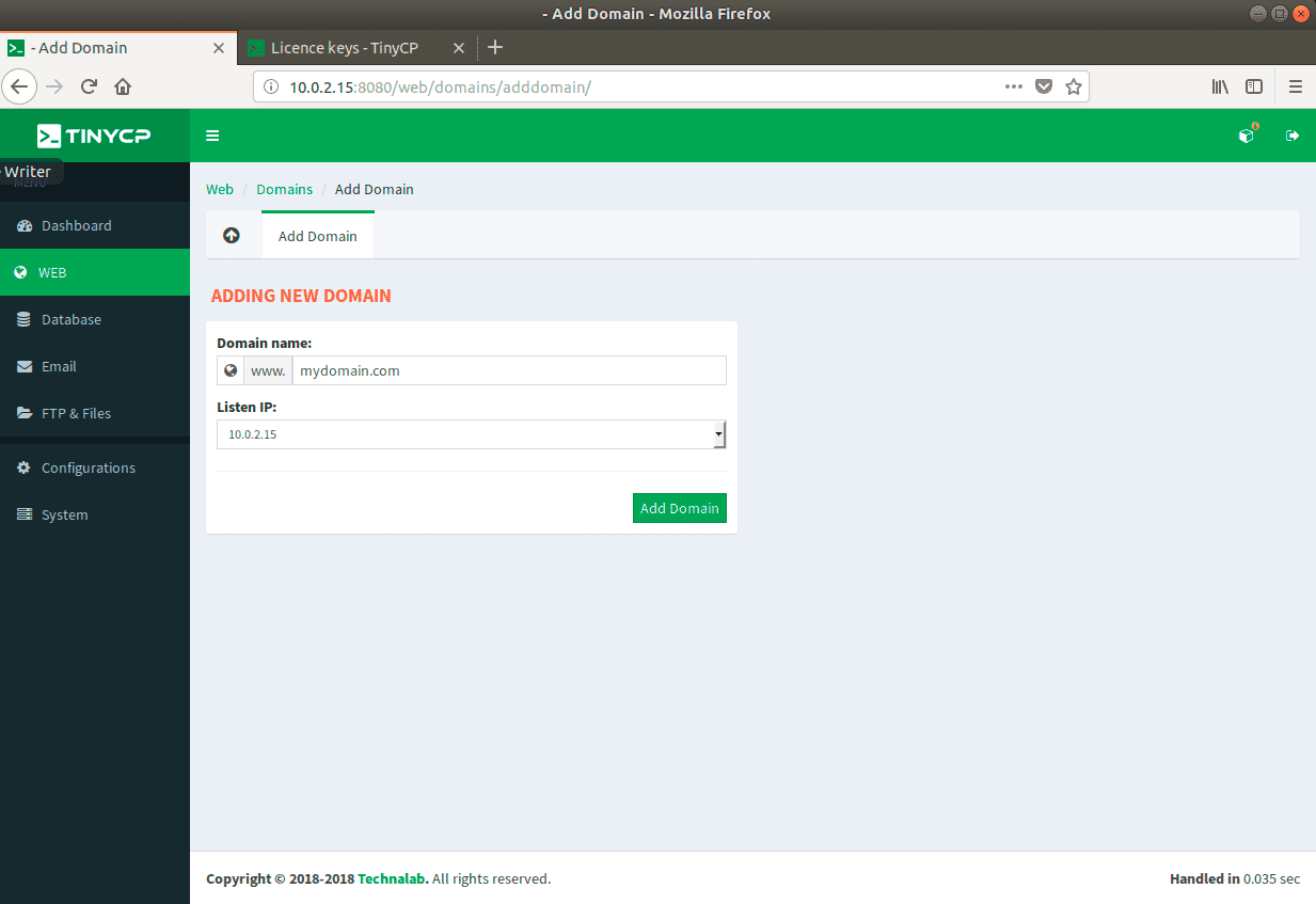 Create-New-Domain
