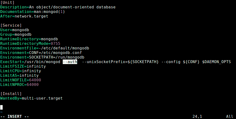 Enable-Authentication-in-MongoDB
