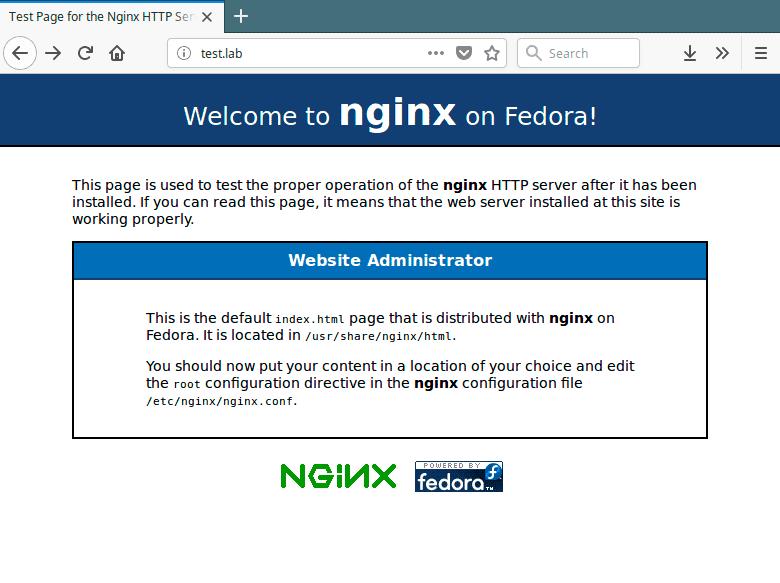 Nginx-Default-Page