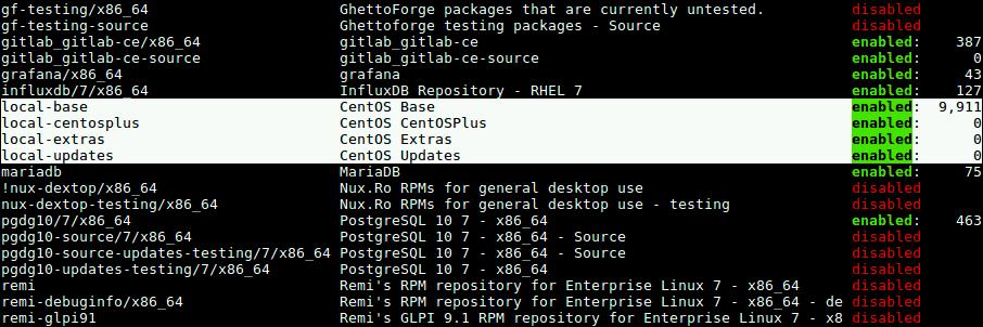 Как настроить локальный репозиторий HTTP Yum на CentOS 7?