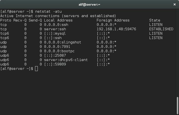 netstat-command