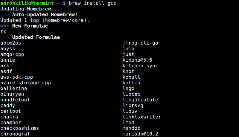 Install-Package-Using-Linuxbrew