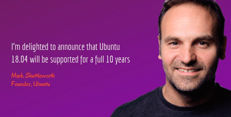 Ubuntu-18.04-will-get-10-years-support