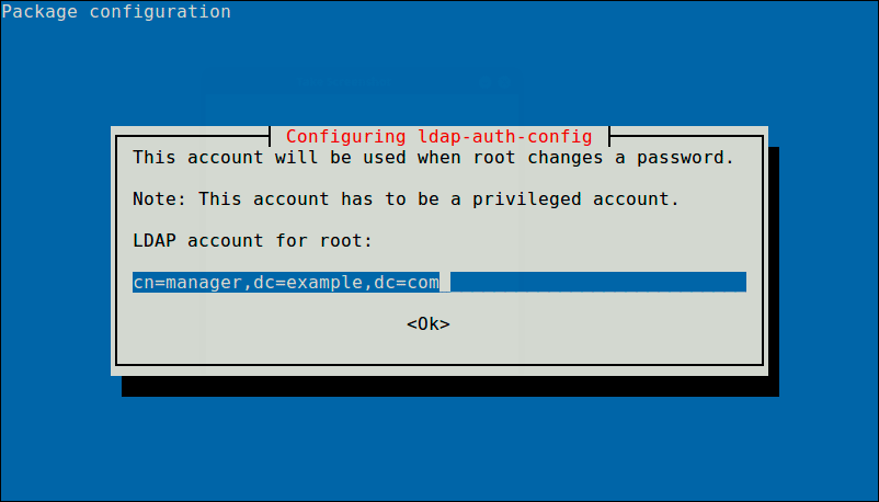 Define-LDAP-Account-for-Root
