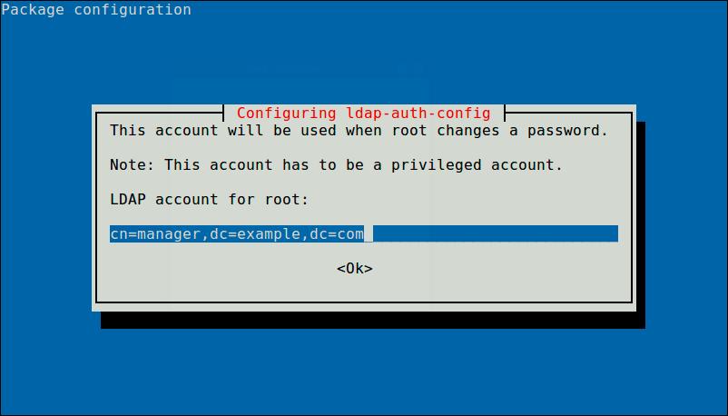 Define-LDAP-Account-for-Root