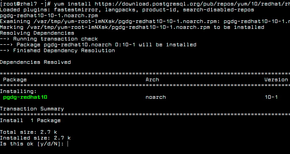 Enable-PostgreSQL-Yum-Repository