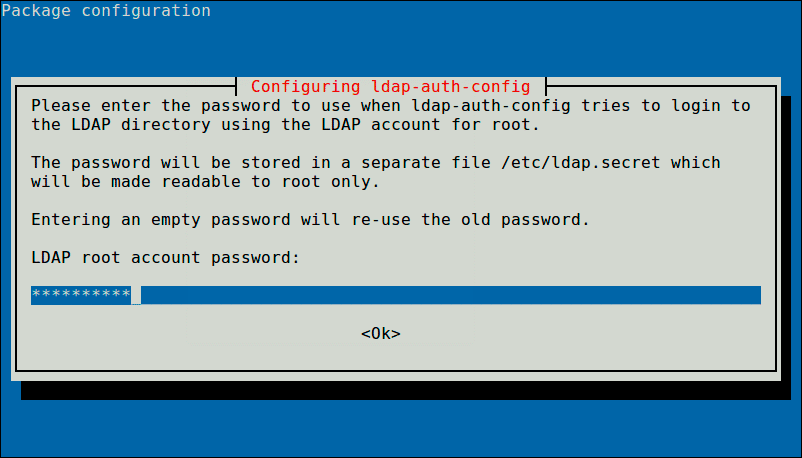 Enter-LDAP-Root-Password