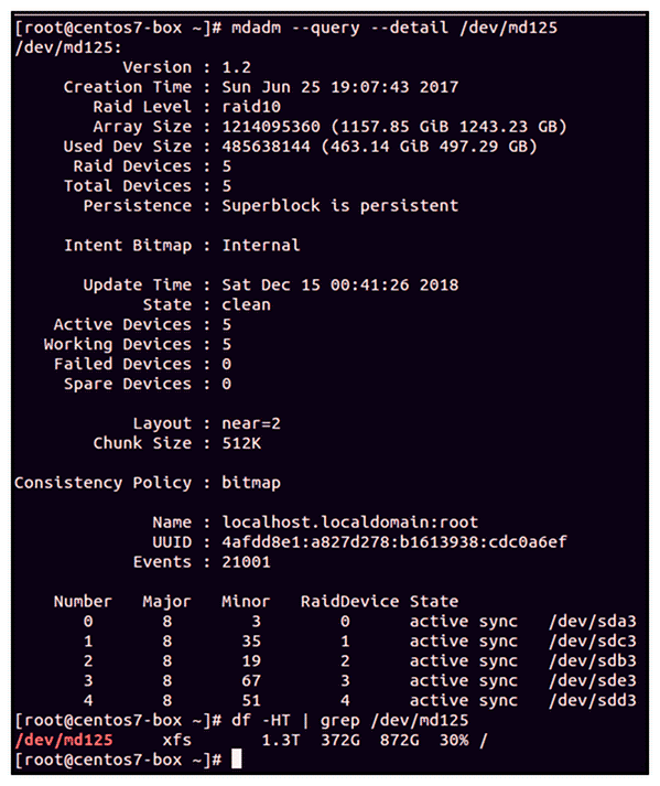 How-to-check-raid-configuration-in-redhat-Linux