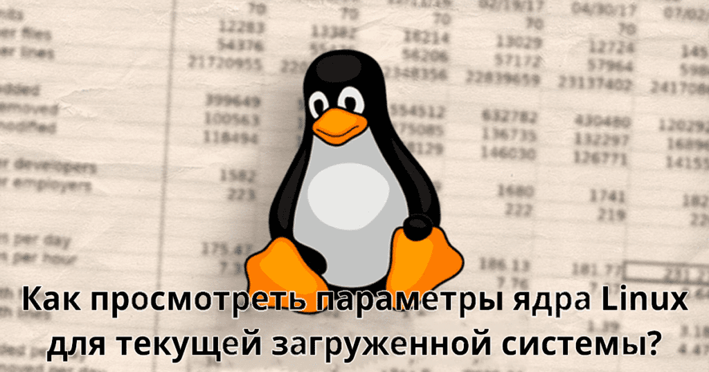 How-to-view-Linux-kernel-parameters-for-currently-booted-system - параметры ядра Linux