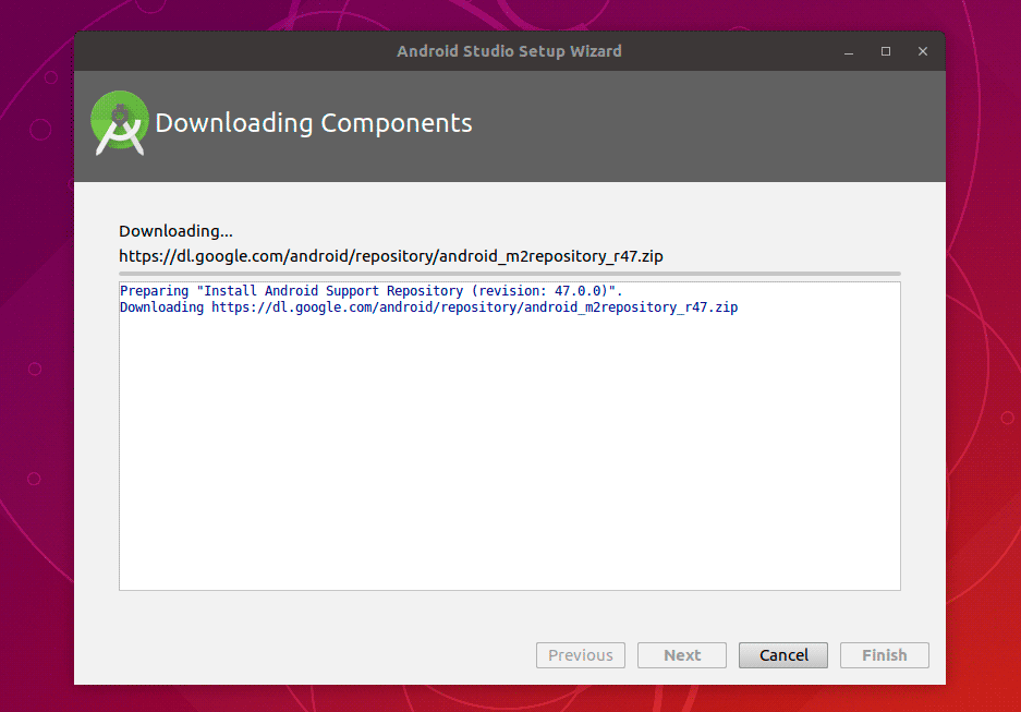android-studio-downloading-components