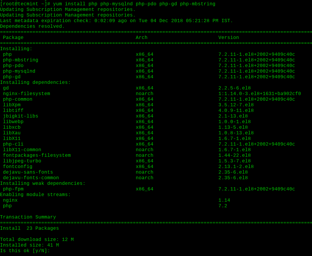 Install-PHP-on-RHEL-8